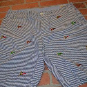 2836 Mens Ralph Lauren Polo Shorts Size 34 Blue